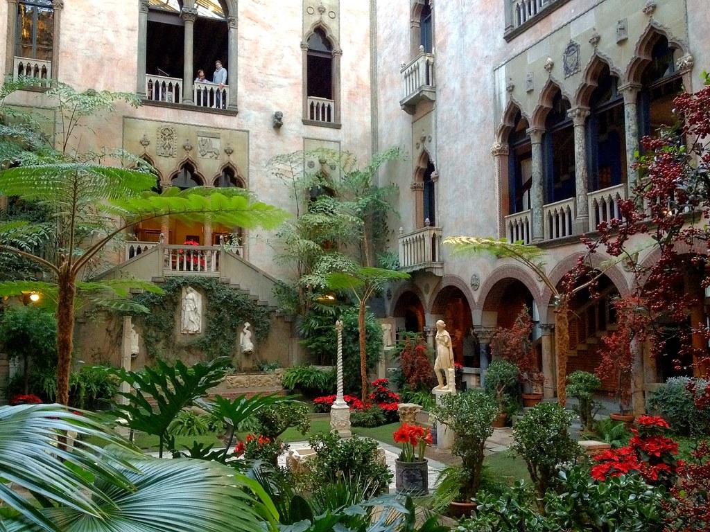 Isabella Stewart Gardner museum courtyard   Penny ...