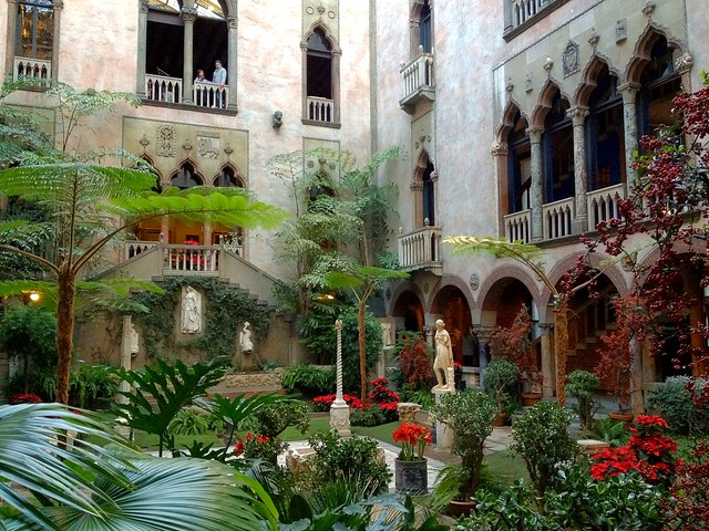 Isabella Stewart Gardner Museum Courtyard Flickr Photo