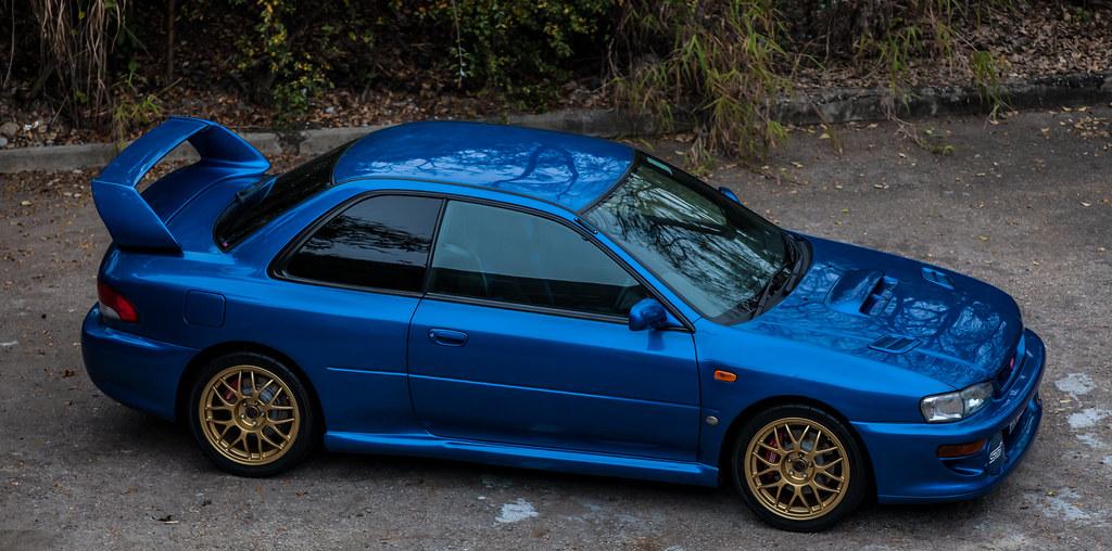 Subaru 22b Rally Subaru Impreza 22b Sti