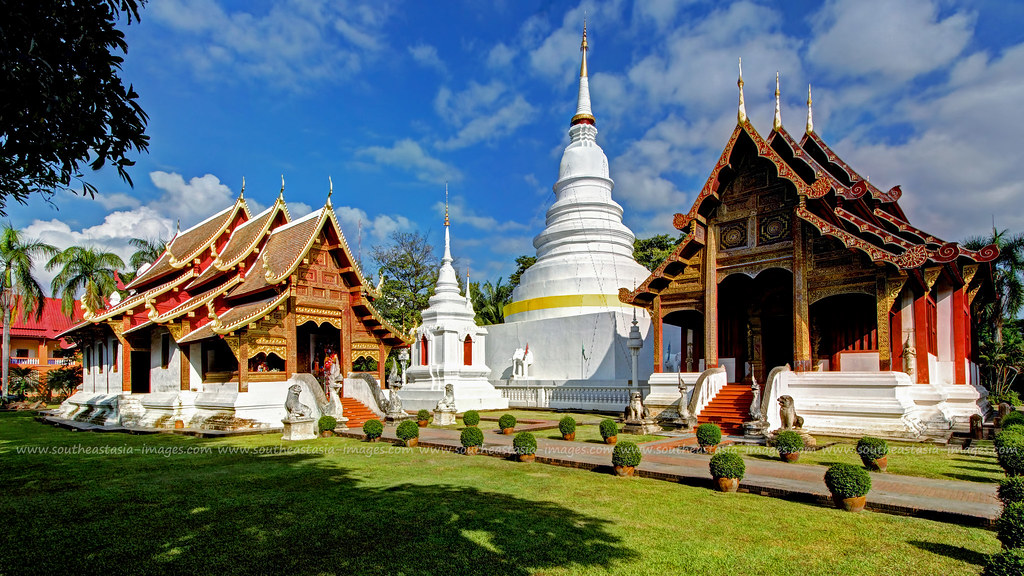 Postcard from Wat Phra Singh / Chiang Mai / Thailand  Flickr