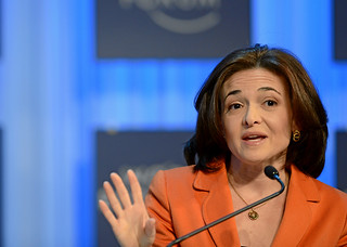 Women in Economic Decision-making: Sheryl Sandberg | by World Economic Forum