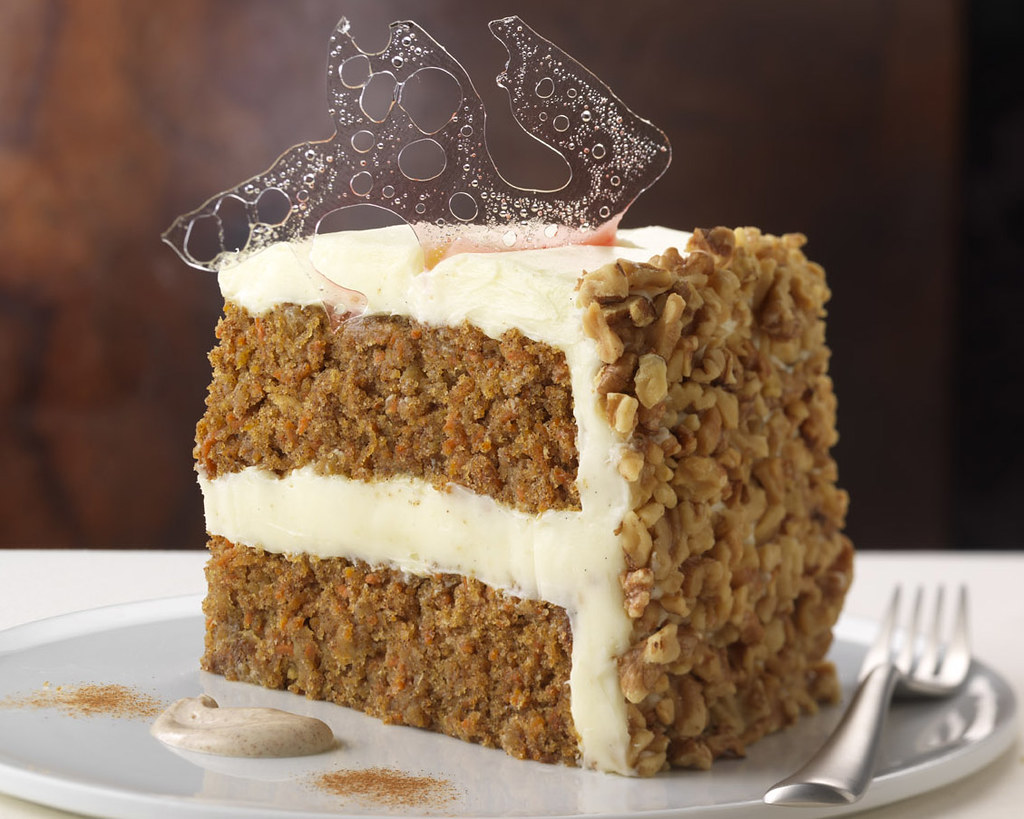 White Carrot Cake Calories