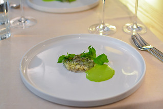 8th: Pike perch with soured cream and cucumber | by Fran Azafrán