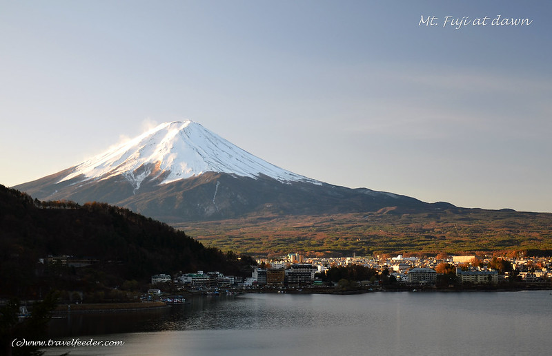 Fund Your Travel Plans- Mt Fuji at dawn