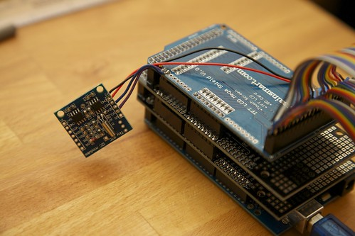 Jarduino aquarium controller with a tiny real time clock