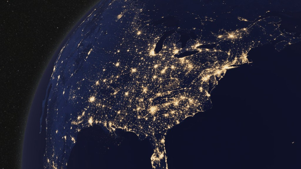 north america from space hd - photo #6