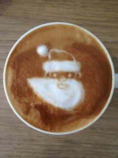 Today's latte, Google Santa Tracker. | by yukop