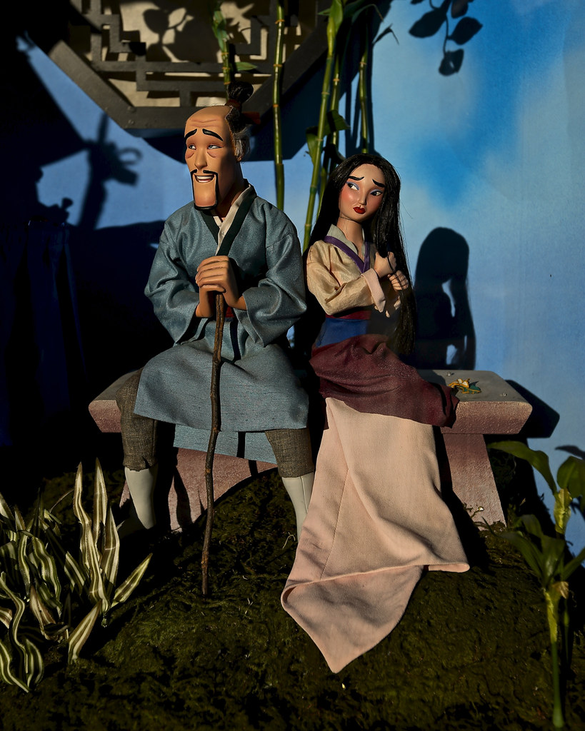 ::Ill be right beside you, dear:: Mulan and Fa Zhou