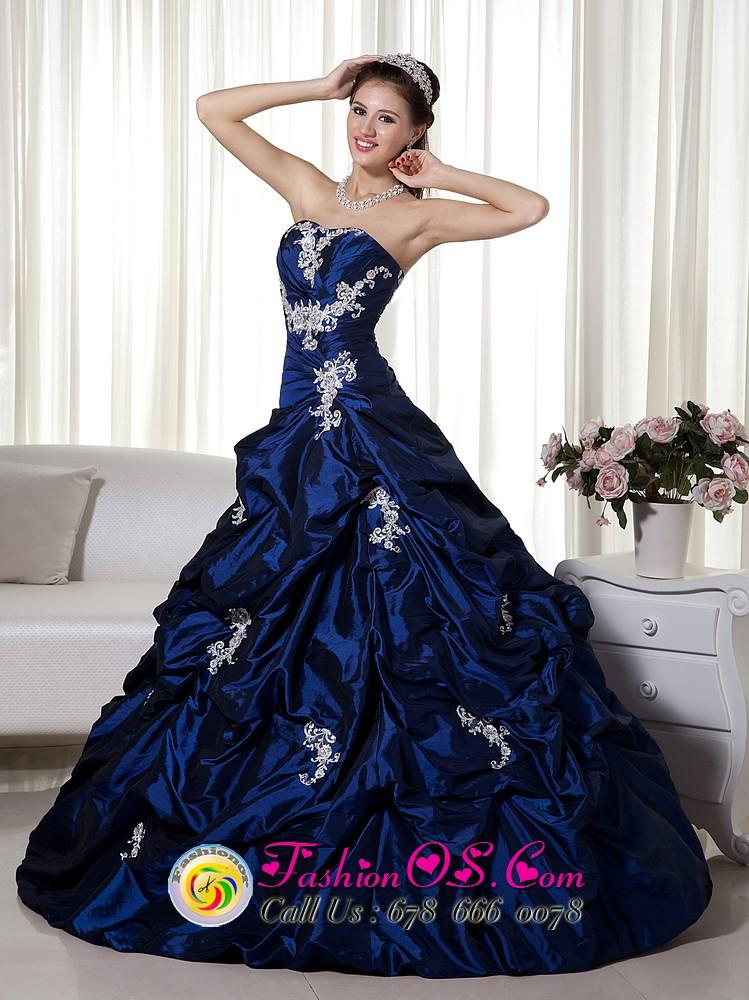 pick-ups navy blue vestidos de quinceanera   pageant sweet ...