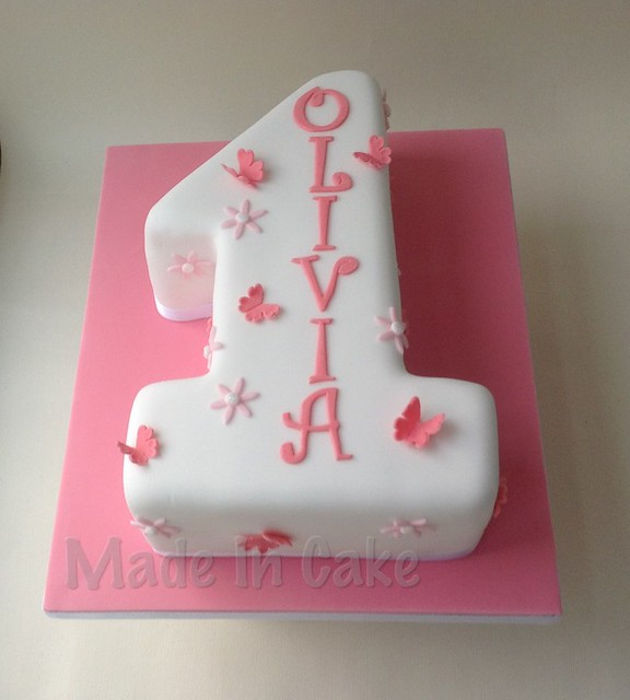 Birthday Cake Pictures Numbers : Number 1 birthday cake Explore Made In Cake s photos on ...