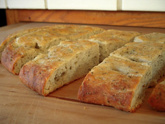 You guys!! I made focaccia bread! I'm so excited because IT'S SO GOOD.