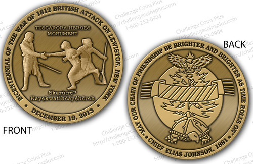 Tuscarora Heroes Commemorative Coin: Now Available for Purchase from Lewiston Museum, 716-754-4214 | by HistoricLewiston