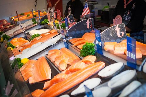 Fresh U.S. seafood