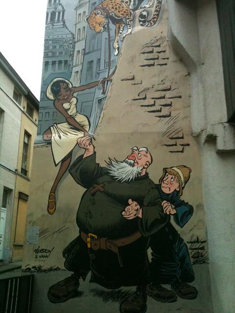 Les aventures d'Odilon Verjus à Bruxelles