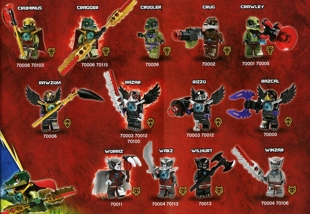 Legends Of Chima minifigs | Set reviews coming soon, on ...