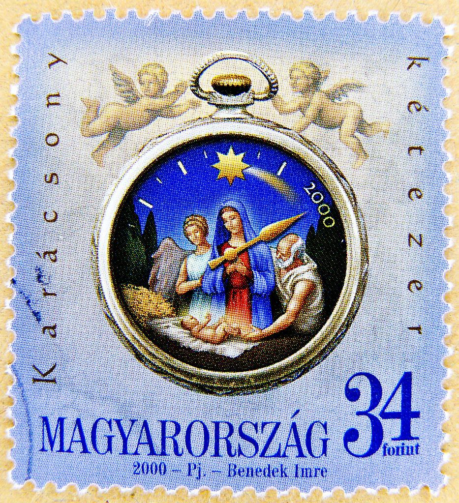 beautiful xmas stamp Hungary christmas Magyar Posta 34 ft … | Flickr