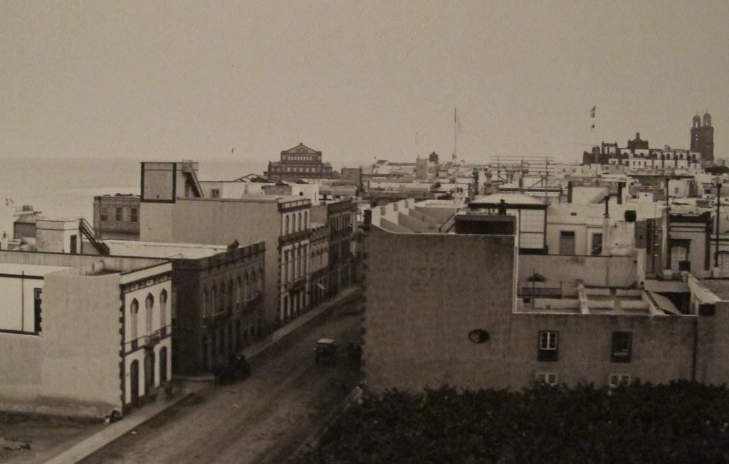 Calle de triana 1895 1900 las palmas de gran canaria expos - Fotografia las palmas ...
