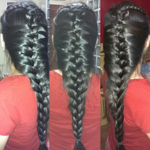 "My Mermaid French Braid. :""3 #hair #hairstyle #instahair ..."