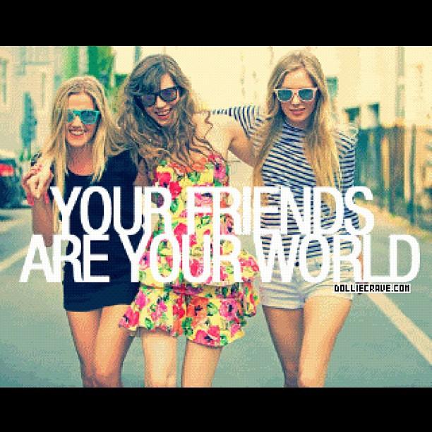 Friendship Girl Quotes: #friend #friendship #quotes #best #BFF #world #bestie #tag