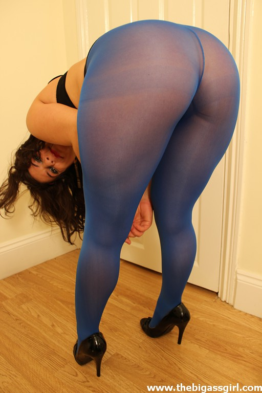 Sexy plus lycra tights