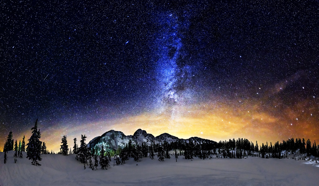 Milky Way Wallpaper 1920x1080 71 Images: The Milky Way Shines Over The Mountains