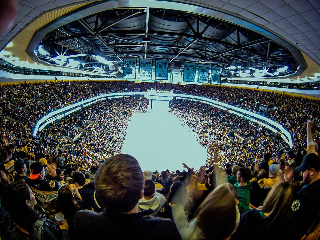 Fish Eye Distortion In Td Garden Boston Bruins 17 565 Pe Flickr
