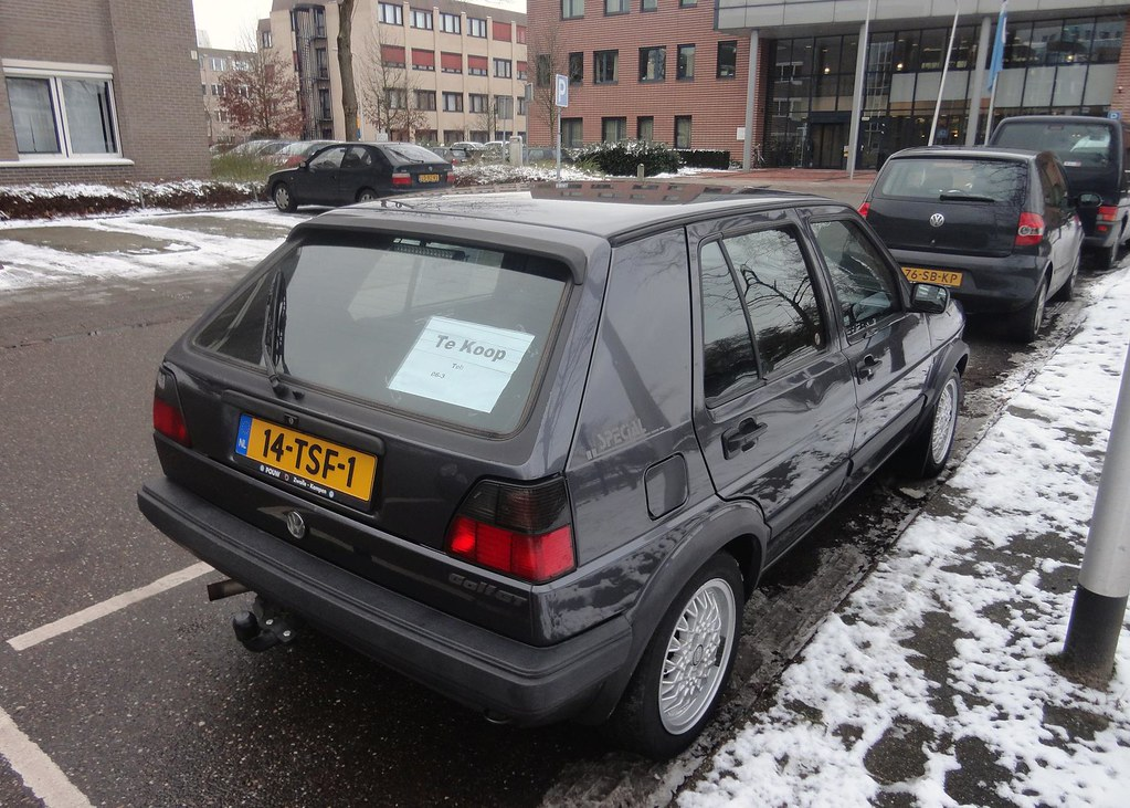 Vw Golf 2 1 8 Gt Special 17 1 1991 14 Tsf 1 Import In Nl