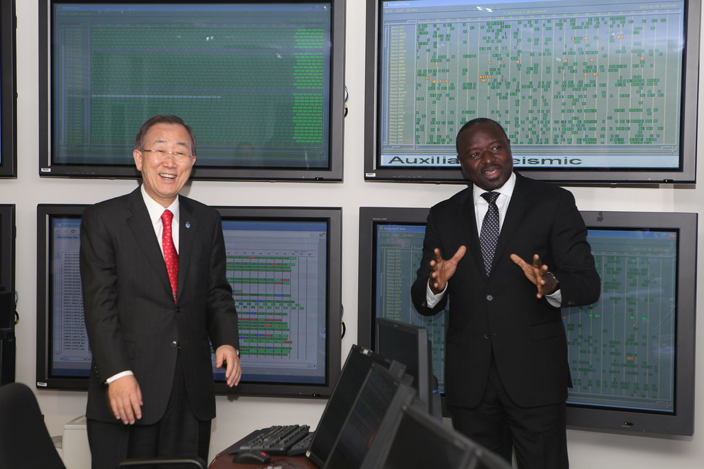 CTBTO Operations Centre - 6 years of operation | Lassina ...
