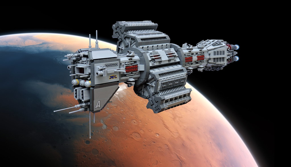How To Build A Lego Spaceship Instructions
