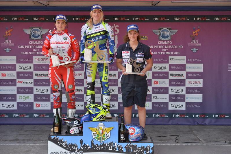 Mundial Trial Féminas 2016. GP de Italia, día 1