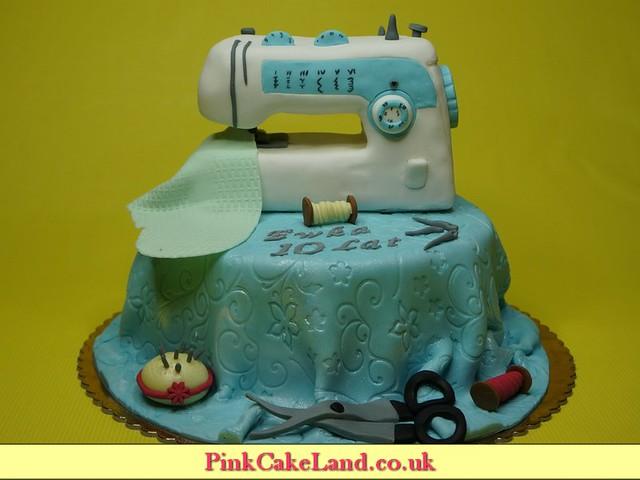 Sewing-machine-cake-london | Flickr - Photo Sharing!