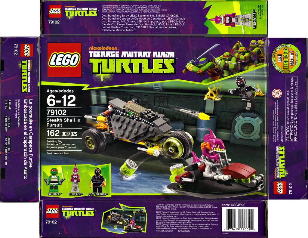 lego teenage mutant ninja turtles     u0026quot stealth shell in pur