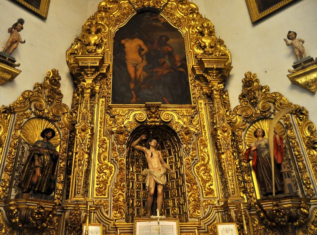 Resultado de imagen de capilla de san sebastian de la catedral de granada