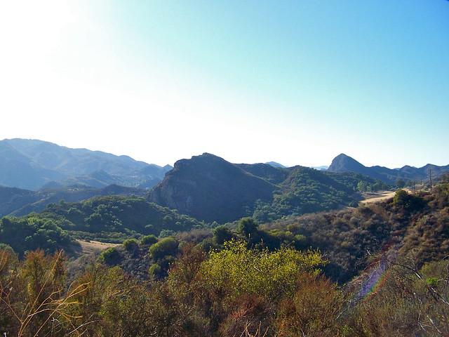 Rugged Santa Monica Mountains
