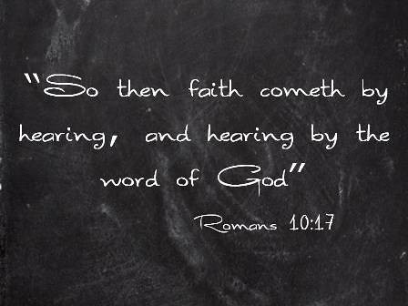 the role of faith in belief in god