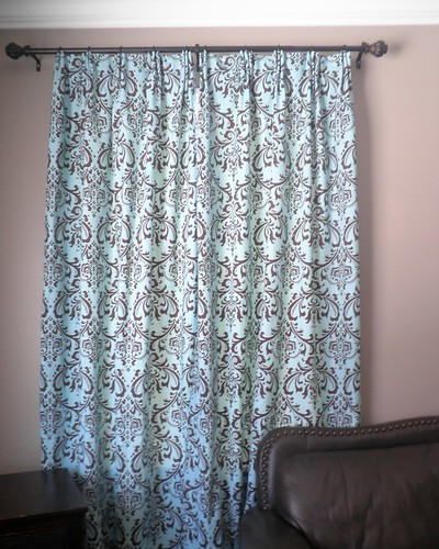triple pinch pleated curtains dyi | by angeleyes_88