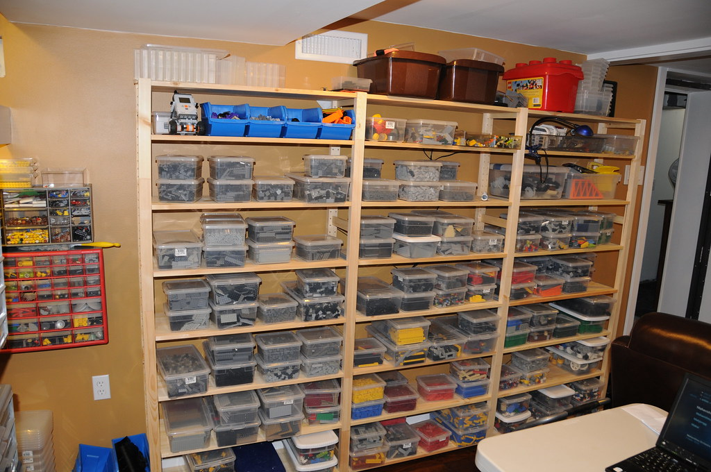 Lego Room Build Ikea Ivar Shelves For Larger Storage