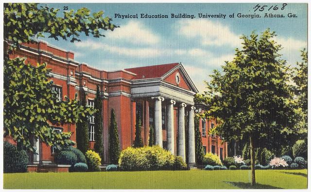 Physical Education Building University Of Georgia Athens Ga Flickr Photo Sharing
