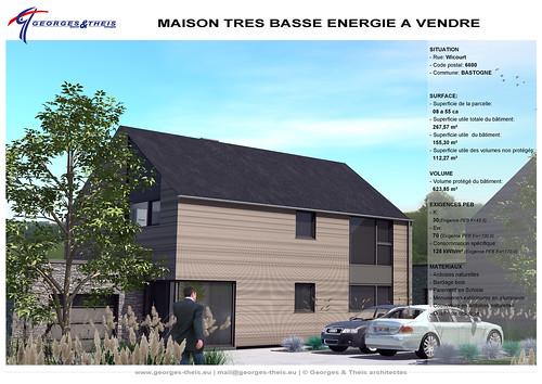 Plan m01 projet de maison tr s basse consommation d - Maison tres basse consommation ...