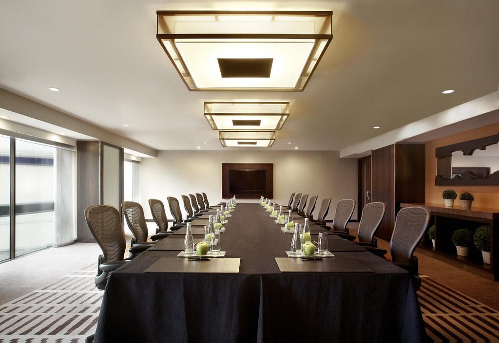 Lcd Meeting Room Clock