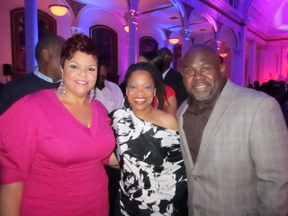 Tamela Mann, me, and David Mann | by Ellenoir1
