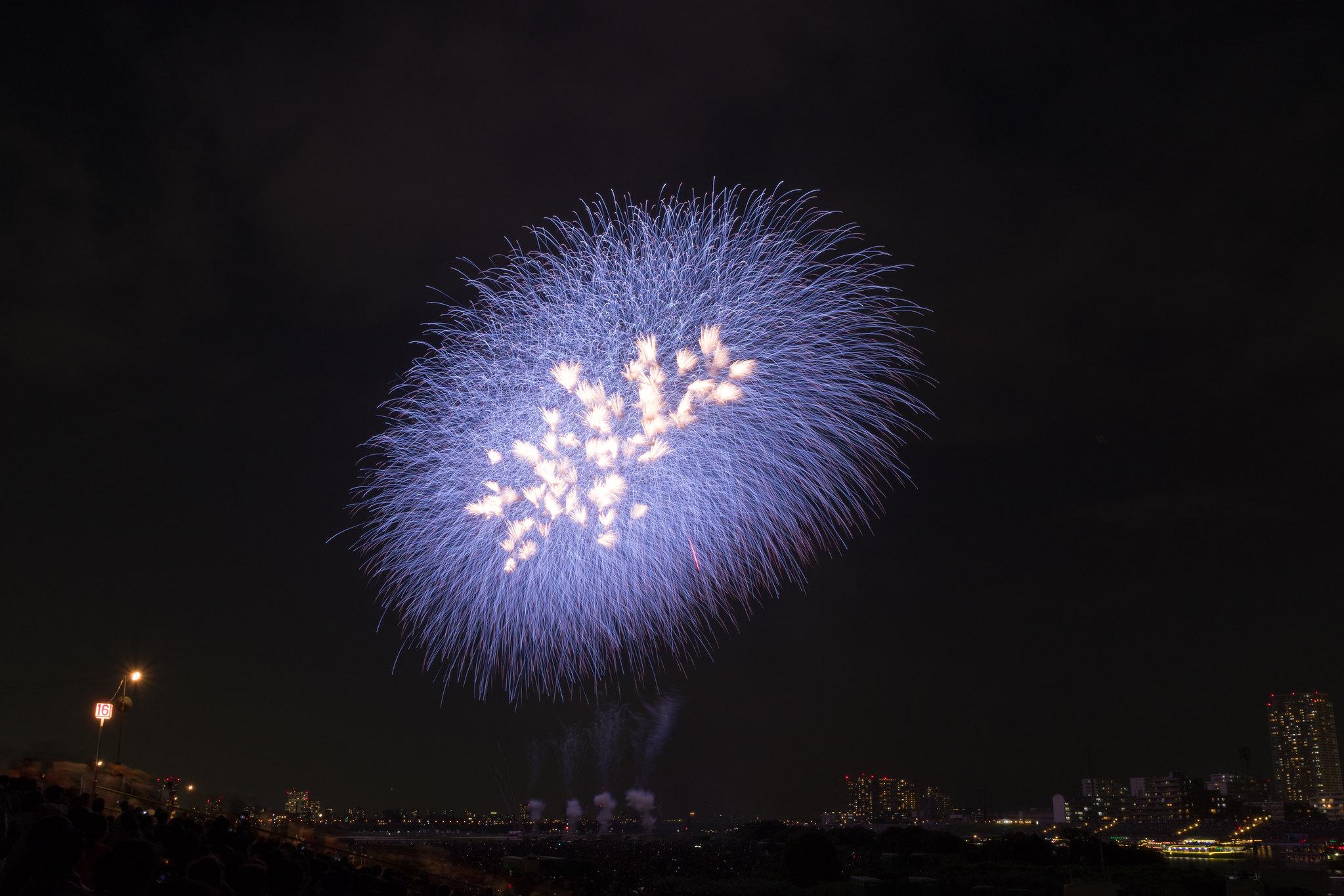 江戸川区花火大会-8