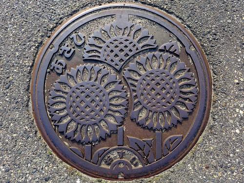 Asahi Nigata, manhole cover (新潟県朝日村のマンホール)