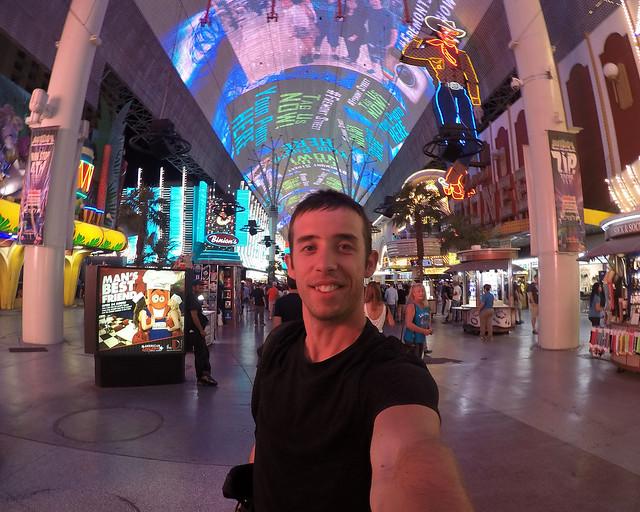 En el interior del Fremond Experience de Las Vegas en la Costa Oeste
