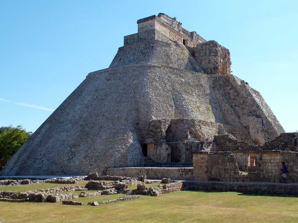 Image result for Pyramid of Magician, Uxmal