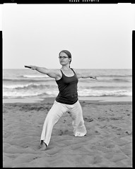 Yoga on the beach I