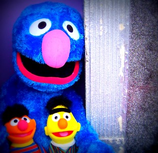 Grover as Sesame Street Savior | by Renee Rendler-Kaplan