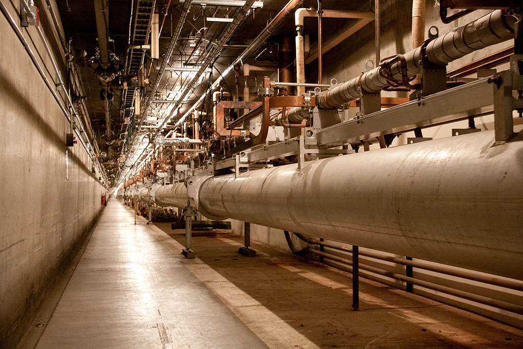 Slacs Linear Particle Accelerator This Photo Was Taken