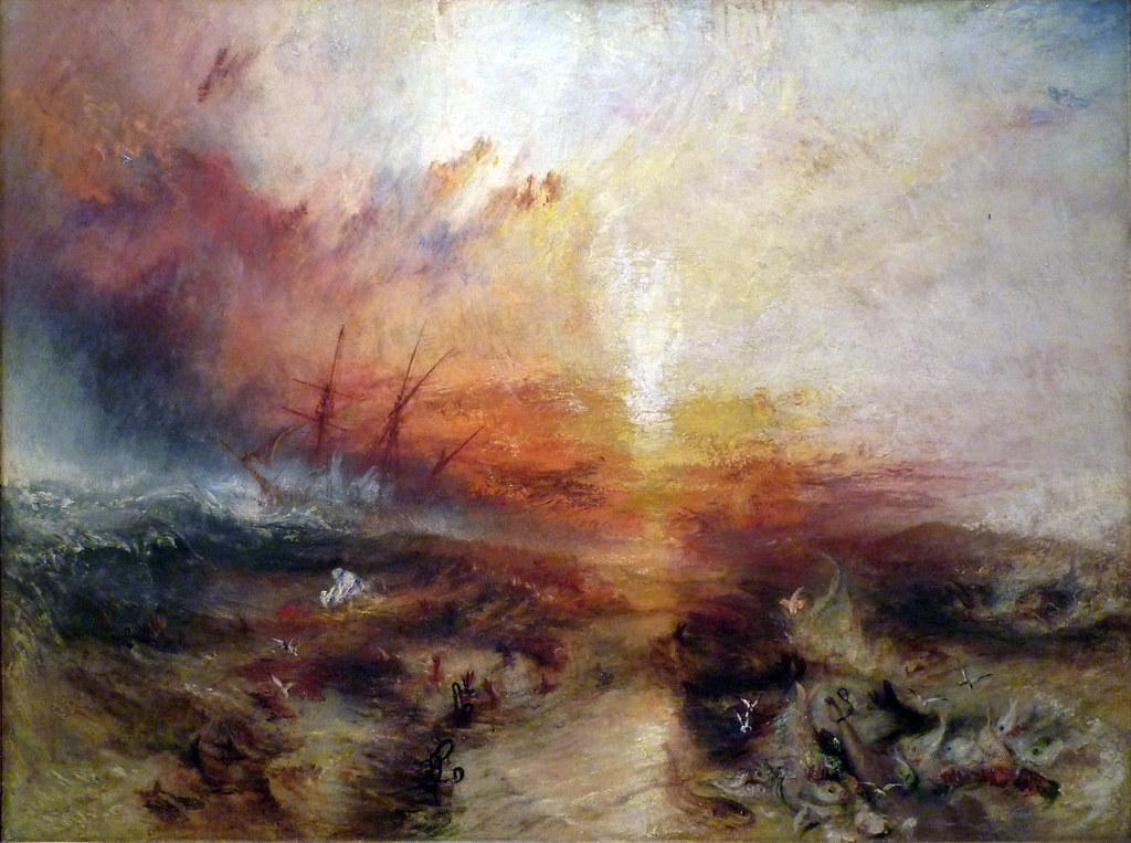 Jmw Turner Slave Ship Joseph Mallord William Turner