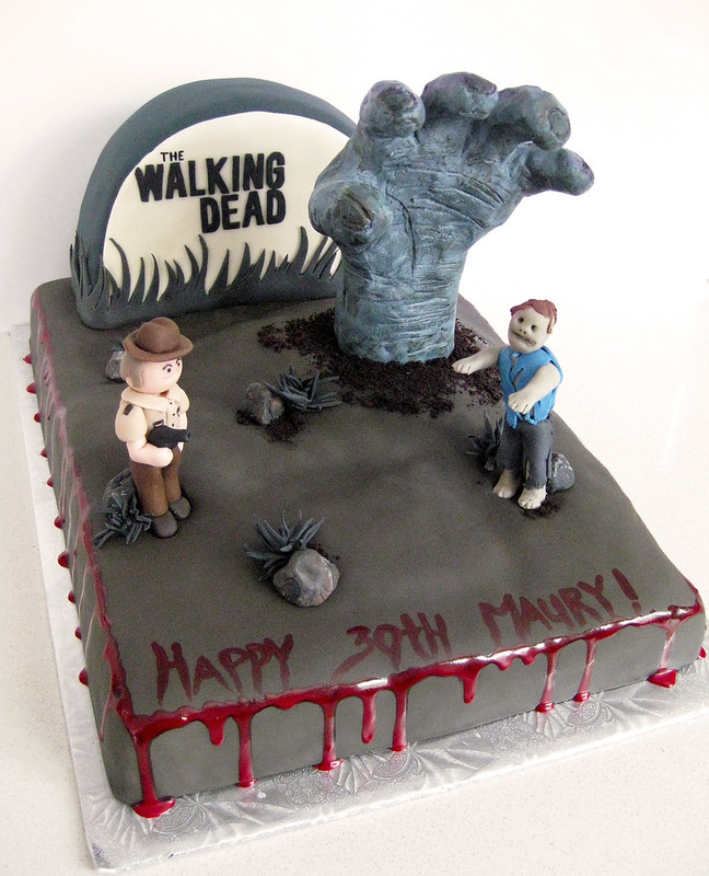 All Sizes The Walking Dead Cake Flickr Photo Sharing